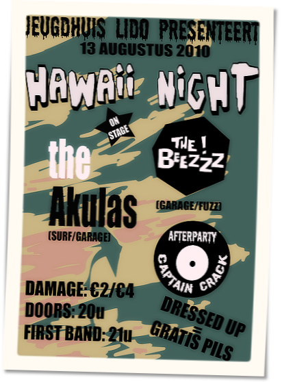 The Akulas 13-08-2010 Hawaii night Grobbendonk